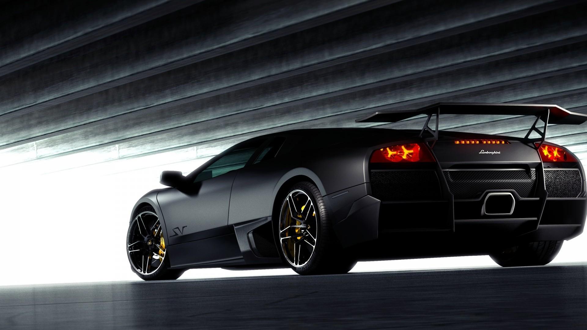 Black Lamborghini Back View Hd Wallpapers 1080p Cars Elite Cars Leasing